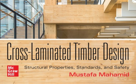 Two members of the Dovetail team featured in Cross Laminated Timber Design text